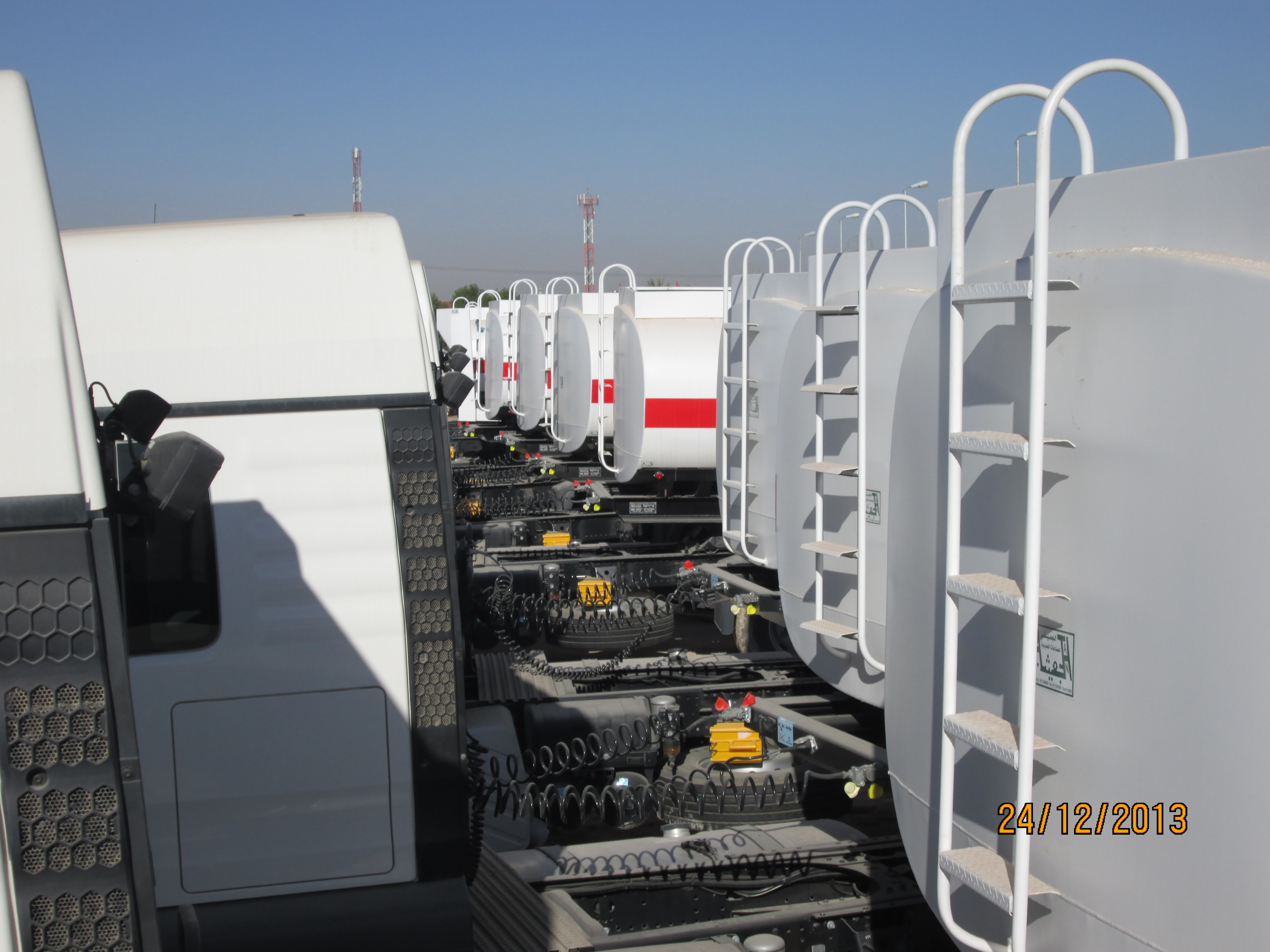 A total of 36,000 liter tanks of diesel fuel Saudi Automation